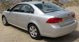 Kia Optima - Kia Optima LX (US; facelift)