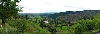 Wairoa River (Hawke's Bay) - Wairoa River Valley between Te Reinga and Frasertown
