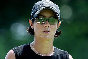 Laura Diaz - Diaz at 2009 LPGA Championship