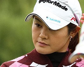 2009 Women's British Open - Shinobu Moromizato (3).jpg