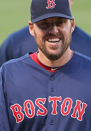 John Lackey - Lackey during his tenure with the Boston Red Sox in 2011