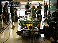 2011 British GP - Lotus garage.jpg