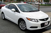 Elegant 2012 Honda Civic EX Coupe (US)