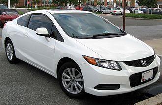 Honda Civic (ninth generation) - 2012 Honda Civic EX coupe (US)