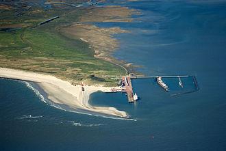 Wangerooge - Image: 2012 05 13 Nordsee Luftbilder DSCF8702