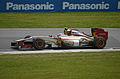 2012 Canadian Grand Prix Narain Karthikeyan HRT F112.jpg