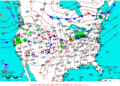 2013-06-25 Surface Weather Map NOAA.png