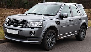 Land Rover Freelander series of car models from Land Rover