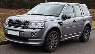 Land Rover Freelander - Facelift Land Rover Freelander 2 Dynamic SD4 (United Kingdom)