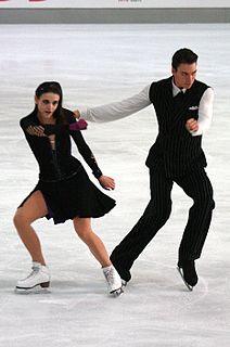 Federica Testa ice dancer