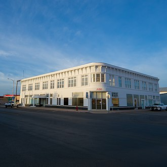Donald Judd - Print Building, Marfa.