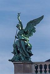 2014-12-12 Figuren auf der neuen Burg - Victoria by Rudolf Weyr, Vienna 6228.jpg