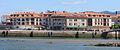 2014 Edificios de Vilanova de Arousa coa ponte da Illa ao fondo.jpg
