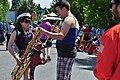 2014 Fremont Solstice parade - Brass Band Mission 04 (14322541598).jpg