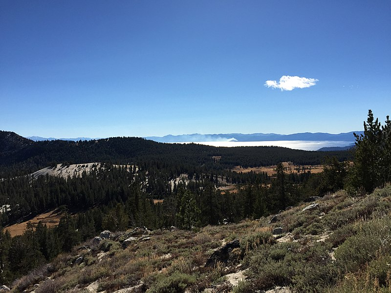File:2015-10-31 14 25 23 View toward Lake Tahoe from the Mount Rose Trail about 0.3 miles northwest of Mount Rose Summit, Nevada.jpg