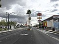 2015-11-04 11 14 37 View south from the north end of Nevada State Route 582 (Fremont Street) in downtown Las Vegas, Nevada.jpg