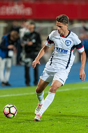 Sindri Guri - Guri in the Europa League in 2016.