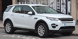 Land Rover Discovery Sport compact SUV model from Land Rover