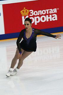Courtney Hicks American figure skater
