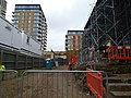2016 Woolwich Crossrail station construction site 01.jpg