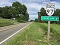2017-06-25 17 18 31 View south along Virginia State Route 97 (Pipers Gap Road) just south of Coal Creek Road (Virginia State Secondary Route 608) in southwestern Carroll County, Virginia.jpg
