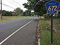 2017-09-13 16 58 51 View south along Church Street (Mercer County Route 672) at South Broad Street in Hamilton Township, Mercer County, New Jersey.jpg