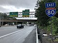 2018-07-25 09 55 01 View east along Interstate 80 (Bergen-Passaic Expressway) between Exit 58 and Exit 60 in Paterson, Passaic County, New Jersey.jpg