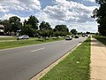 2018-07-29 15 41 27 View west along Virginia State Route 846 (Sterling Boulevard) at Virginia State Route 1401 (Holly Avenue) in Sterling, Loudoun County, Virginia.jpg