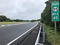2018-09-10 10 24 29 View south along New Jersey State Route 55 (Cape May Expressway) just north of Exit 48 in Glassboro, Gloucester County, New Jersey.jpg