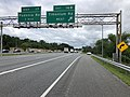 2019-06-21 10 07 34 View north along Interstate 83 (Baltimore-Harrisburg Expressway) at Exit 16B (Timonium Road WEST, Timonium) on the edge of Mays Chapel and Timonium in Baltimore County, Maryland.jpg