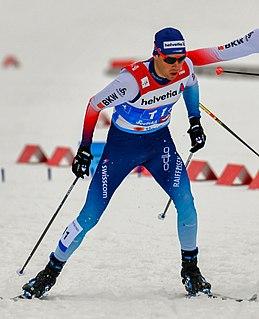 Toni Livers Swiss cross country skier