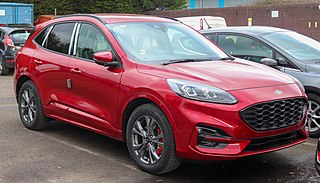 Ford Kuga Sport utility vehicle manufactured by Ford