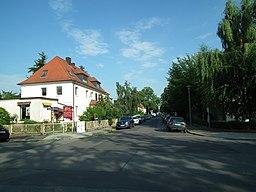 Burgenlandstraße in Dresden