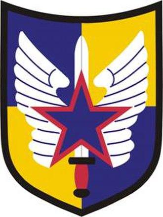 35th Combat Aviation Brigade (United States) - Former 20th Aviation Brigade shoulder sleeve insignia