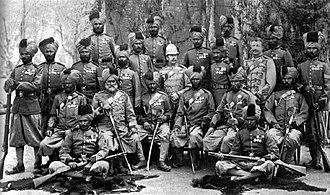 20th Duke of Cambridge's Own Infantry (Brownlow's Punjabis) - Image: 20th (Punjab) Bengal Infantry (6 Punjab), Egypt 1882 2