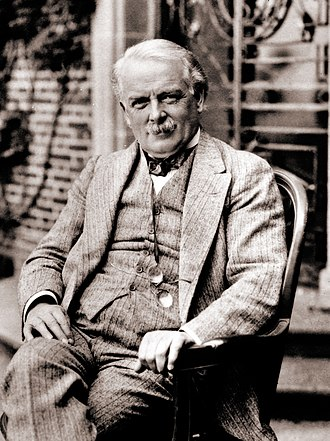 Genoa Conference (1922) - British prime minister David Lloyd George (1863-1945) designed the 1922 Conference in Genoa, Italy.