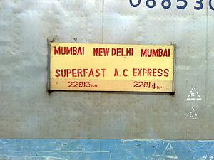 Premium Express - Image: 22914 Mumbai New Delhi Premium AC Express