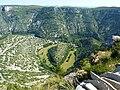 243 Gorges de la Vis Méandre recoupé de Navacelles 2.JPG