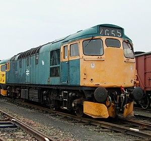 British Rail Class 27 - 27001 at Bo'ness