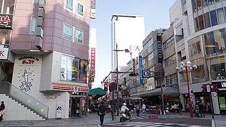 Shizuoka (city) - DownTown of ShizuokaCity