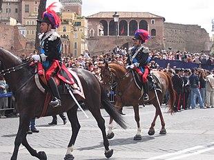 Resultado de imagen de reggimento carabinieri a cavallo