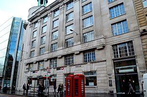 St Patrick's College, London - St Patrick's College Holborn site