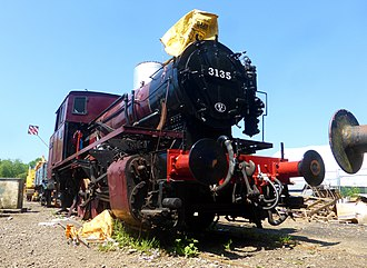 Swindon and Cricklade Railway - Image: 3135 Spartan at Blunsdon (27428754932)