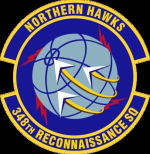 348th Reconnaissance Squadron - Image: 348th Reconnaissance Squadron Emblem