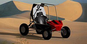 Baja SAE - Image: 3D CAD Model BAJA SAE TEAM KIIT
