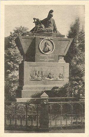 Friedrich Bogislav von Tauentzien - The former funerary monument of Tauentzien in Breslau (Wrocław).