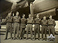 463 Squadron RAAF Lancaster aircrew Waddington 1944 AWM SUK12460.jpg