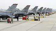480th FS F-16Cs in Bulgaria 2010