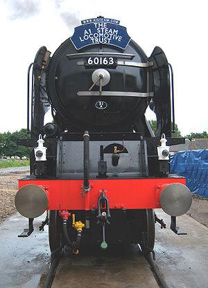 LNER Peppercorn Class A1 - 60163 ''Tornado'', August 2008, Darlington