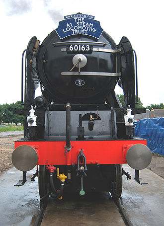 LNER Peppercorn Class A1 - 60163 Tornado, August 2008, Darlington